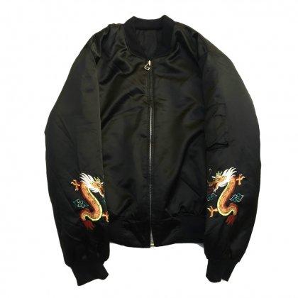 古着 通販 ヴィンテージ スーヴェニア ジャケット【MA1-type】【1980s】Vintage Leather Jacket