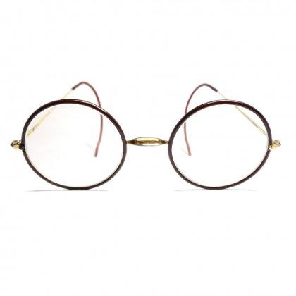 古着 通販 アメリカンオプティカル ビンテージ 丸メガネ【American Optical】【WINDSOR】【1930's】Vintage Eyewear