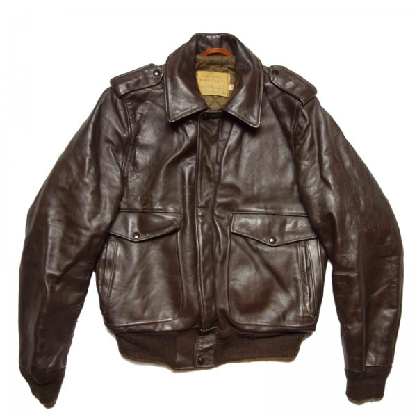 古着 通販 ショット A-2 タイプ レザージャケット 【Schott】【1970's】Vintage Leather Jacket