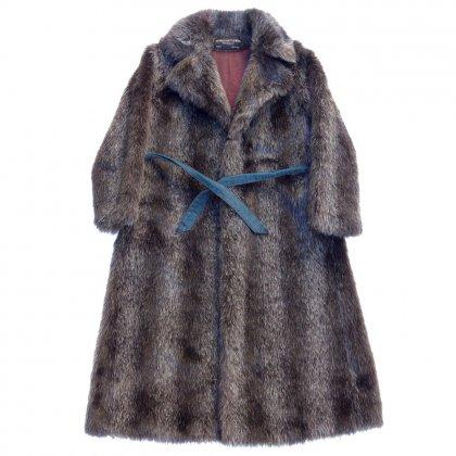 古着 通販 ビンテージ ファー コート【Jaques Saint Laurent】【1980's】Vintage Fur Coat