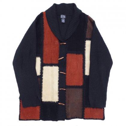 古着 通販 ヴィンテージ パッチワーク カーディガン【1980's~】Vintage Cardigan