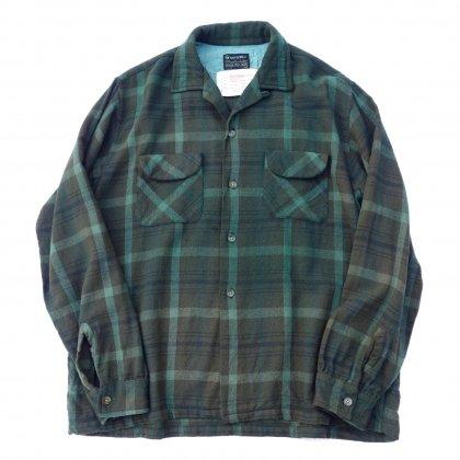 古着 通販 ヴィンテージ ウール 開襟 シャツ【1960's】【pimpstick×西染】Vintage Shirt