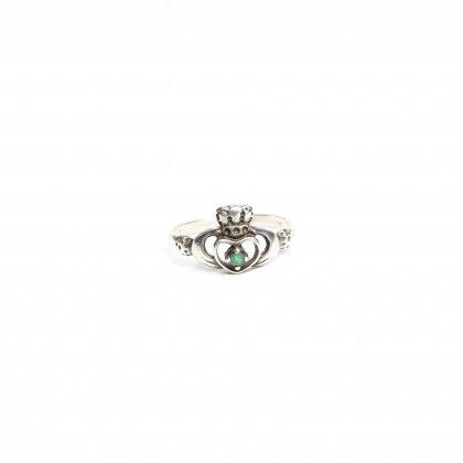 古着 通販 ヴィンテージ クラダーリング【STERLING】【size 15.5*】Vintage Claddagh Ring