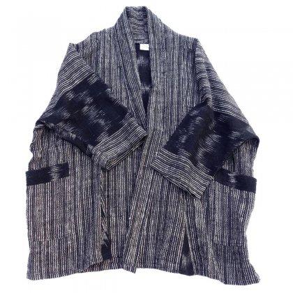 古着 通販 ドルマンスリーブリネン ガウン【KimonoDesign】Vintage Kimono Robe