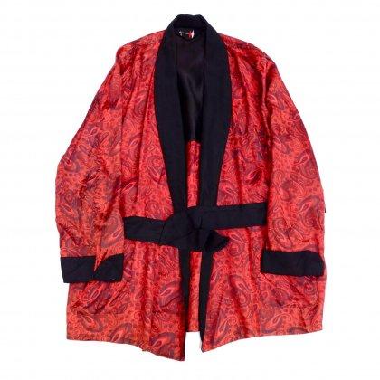 古着 通販 ヴィンテージ スモーキング ガウン【Japanese Paisley】【1960's】Vintage Robe