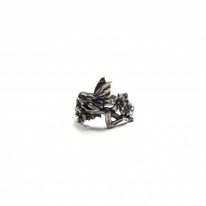 古着 通販 ヴィンテージ フェアリー モチーフ リング【Handmade STERLING】Vintage Ring