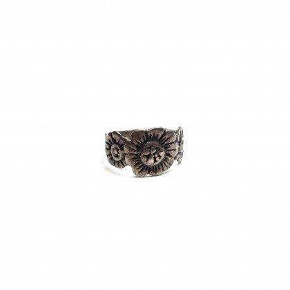 古着 通販 ヴィンテージ フラワー モチーフ リング【Handmade STERLING】Vintage Ring