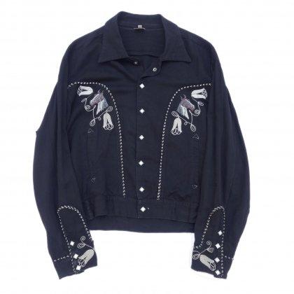 古着 通販 ヴィンテージ ウエスタン ジャケット【MADE IN FRANCE】【1950's】Vintage jacket