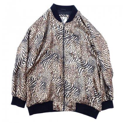 古着 通販 ヴィンテージ レオパード ブルゾン【Big Silouette】【1980's~】Vintage jacket