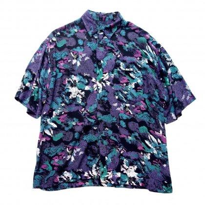 古着 通販 ヴィンテージ アートプリント シャツ【Black Noise】【1980's-】Vintage Shirts