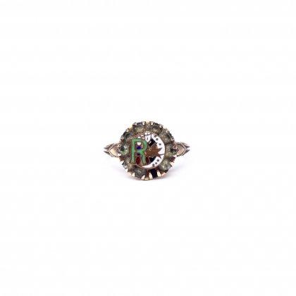 古着 通販 ヴィンテージ【IOOF - Rebekahs】リング【10 KGF】Vintage Odd fellows Ring