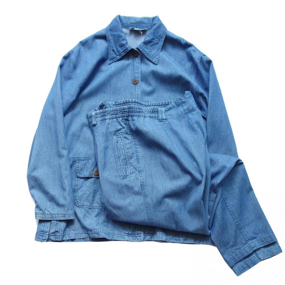 古着 通販 ヴィンテージ デニム セットアップ【POETIC】【1980's~】Vintage Suit
