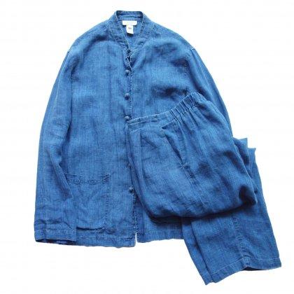 古着 通販 インディゴ リゾート セットアップ【LINEN FABRIC】Vintage Suit