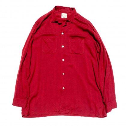 古着 通販 ヴィンテージ レーヨン オープンカラー シャツ【VAN HEUSEN】【1960's】Vintage Shirts