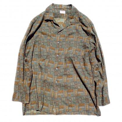 古着 通販 ヴィンテージ マクレガー 【McGREGOR】オールプリント コットン シャツ【1960's】Vintage Shirts