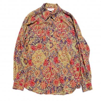 古着 通販 【GUESS】オールプリント レーヨン シャツ【1990's】Vintage Shirts