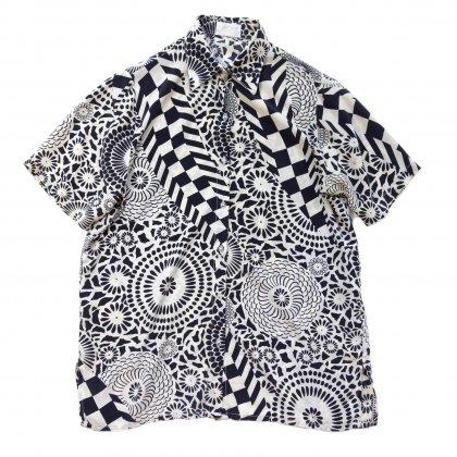 古着 通販 ヴィンテージ オールプリント シルク シャツ【1980's-】Vintage Shirts