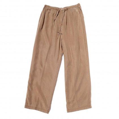 古着 通販 テンセル イージー トラウザーズ【Gabardine BR/BE】Easy Pants