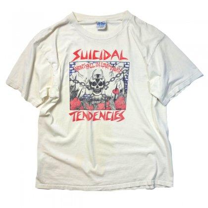 古着 通販 スイサイダル・テンデンシーズ【Suicidal Tendencies】プリントT シャツ【Won´t fall in love today】【90's】Vintage T-Shirts