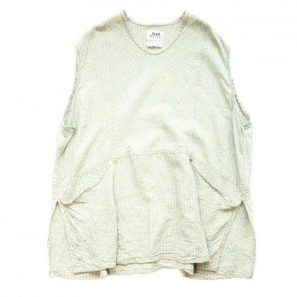 古着 通販 プルオーバー ノースリーブ シャツ【Linen Fabric】Sleeveless Shirts