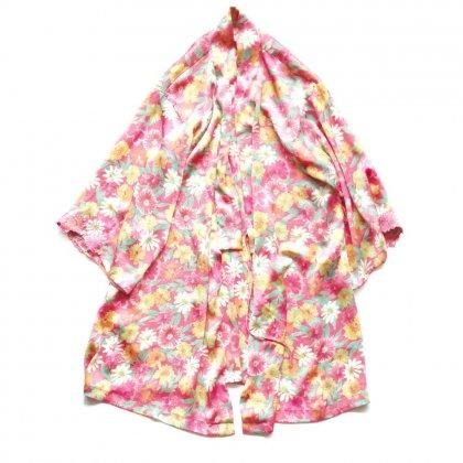 古着 通販 ヴィンテージ 着物 ガウン【Flower Print】【1980's-】Vintage Robe
