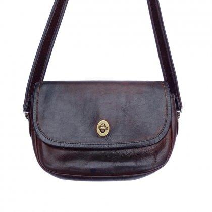 古着 通販 ヴィンテージ レザー ショルダー バッグ 【1970's~】Vintage Leather Bag