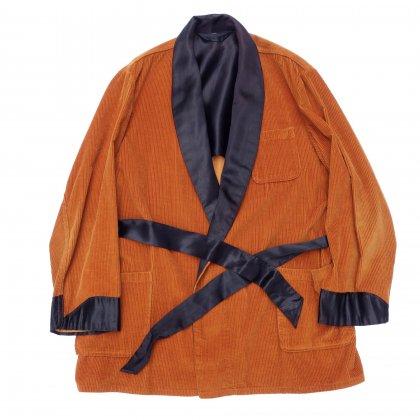 古着 通販 ヴィンテージ スモーキング ガウン【Orange Corduroy】【1950's-】Vintage Robe