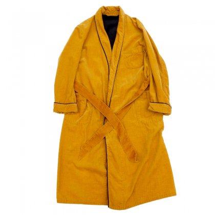 古着 通販 ヴィンテージ コーデュロイ ガウン【Yellow Mustard】【1970's-】Vintage Robe