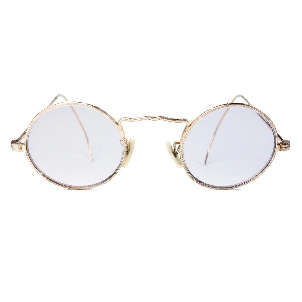 古着 通販 アメリカンオプティカル【American Optical】 ヴィンテージ 丸メガネ【CORTLAND】【1930's】Vintage Eyewear