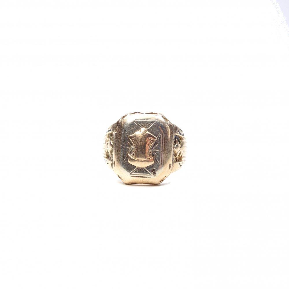 古着 通販 カレッジリング【1957】【10kt Gold】Vintage College Ring