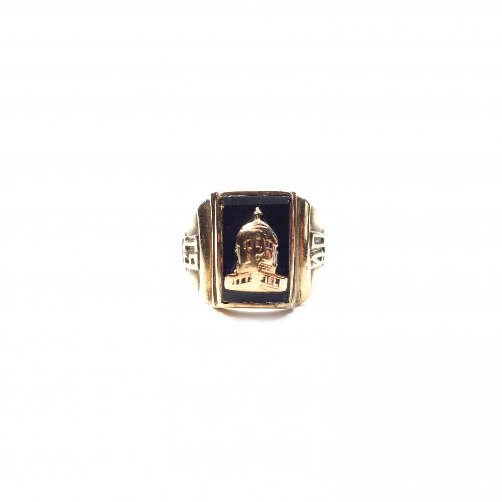 古着 通販 カレッジリング【1940s】【Twins BEC #7】【MA.CO 10kt Gold】Vintage College Ring