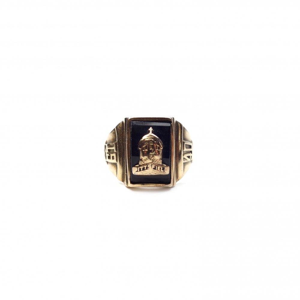 古着 通販 カレッジリング【1940s】【Twins BMC #9.5】【MA.CO 10kt Gold】Vintage College Ring