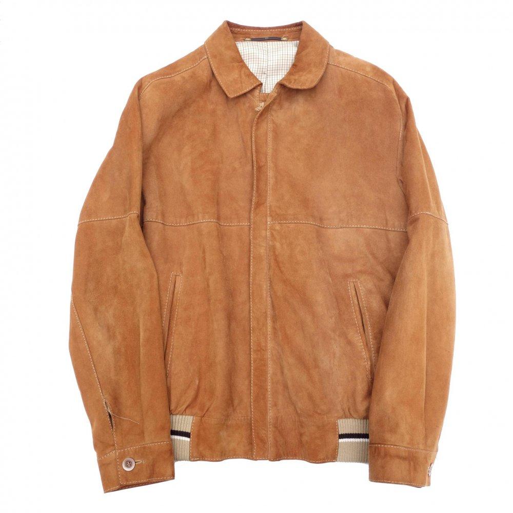 古着 通販 ラムスエード ジップアップ ブルゾン【1980s-】 Vintage Leather Jacket