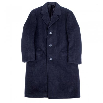 ヴィンテージ テーラード コート【Charcoal-Fine Wool Melton】【1960's-】Vintage  Coat