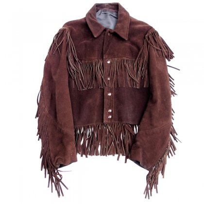 ヴィンテージ フリンジ レザー ジャケット【1970's-】Vintage Leather Jacket