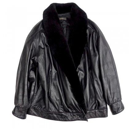 ヴィンテージ ラムレザー ブルゾン【1980's-】Vintage Leather Jacket
