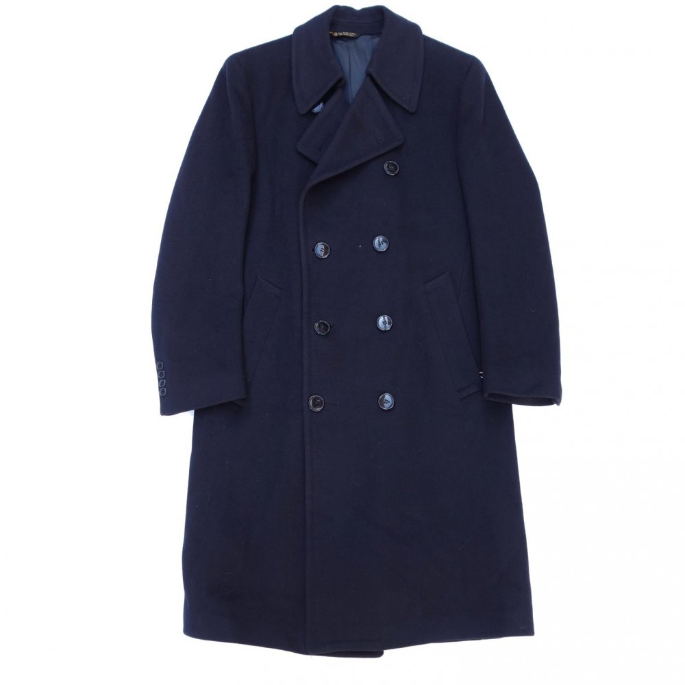 古着 通販 ヴィンテージ ダブルブレスト テーラード コート【1970's-】Vintage Coat