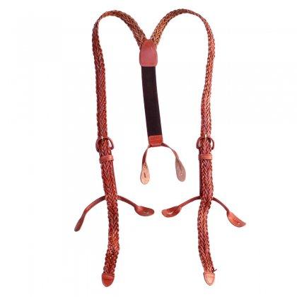 古着 通販 ヴィンテージ レザー サスペンダー【Mesh Leather】Vintage Suspenders