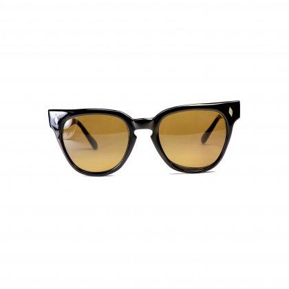 古着 通販 ヴィンテージ メガネ【1950s-】【Horn-Rim Black Ebony】 Vintage Glasses