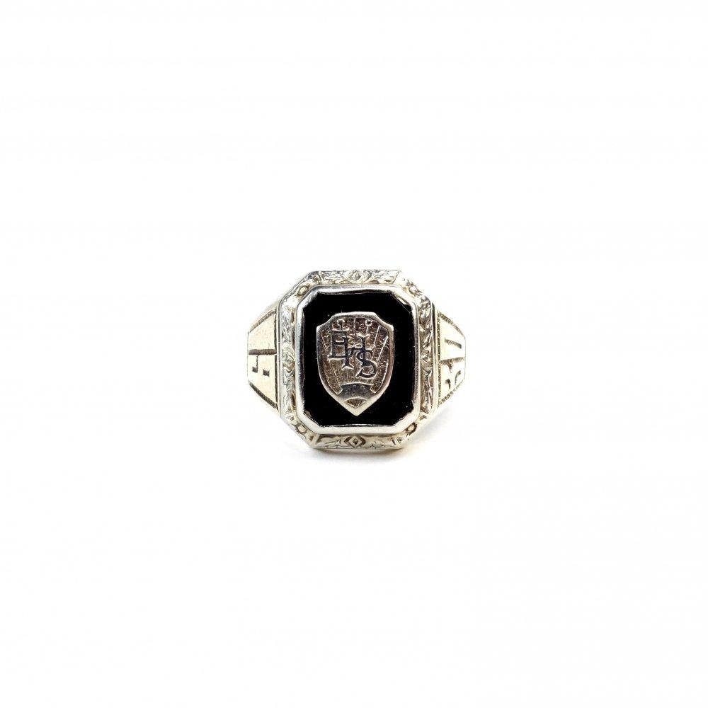古着 通販 カレッジリング【1930s】【White Gold】Vintage College Ring