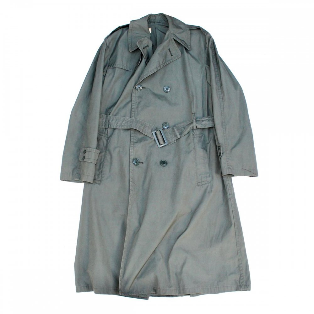 古着 通販 【US ARMY】 ヴィンテージ トレンチコート【1969's】RAINCOAT MAN'S COTTON AND NYLON QUARPEL ARMY GREEN