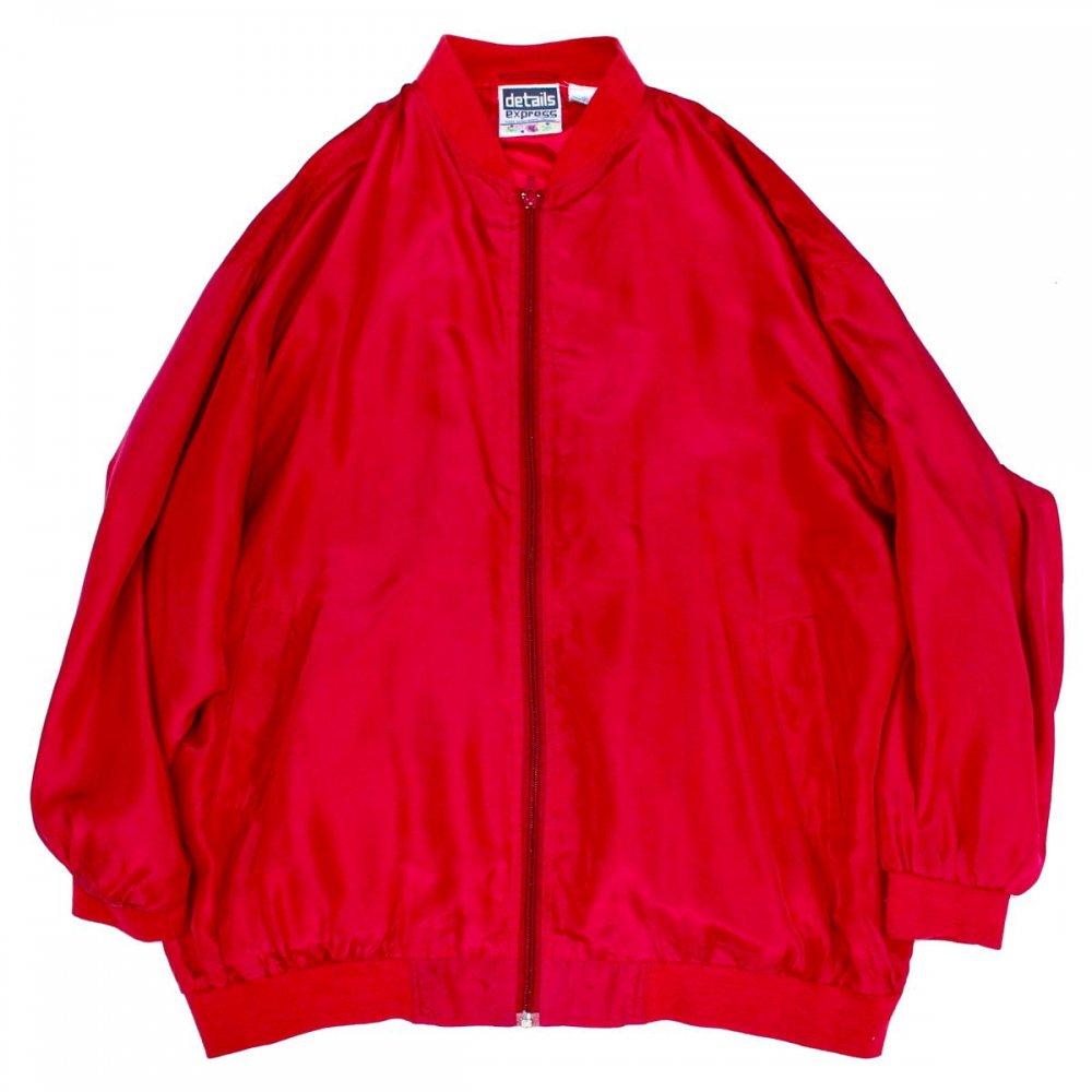古着 通販 ビッグシルエット シルク ブルゾン【1990's】Silk Jacket