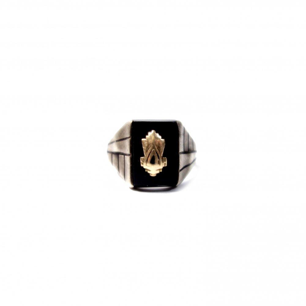 古着 通販 ヴィンテージ カレッジリング【JOSTEN 10K STERLING】Vintage College Ring