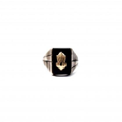 ヴィンテージ カレッジリング【JOSTEN 10K STERLING】Vintage College Ring