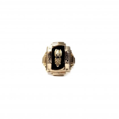 カレッジリング【1962s】【10Kt Gold】Vintage College Ring