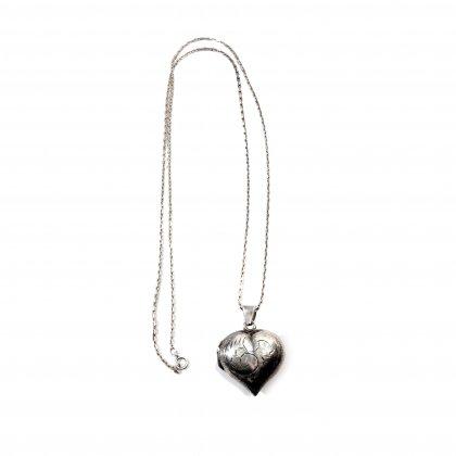 ヴィンテージ スウィートハート ロケット ネックレス【1940's-】Vintage Necklace