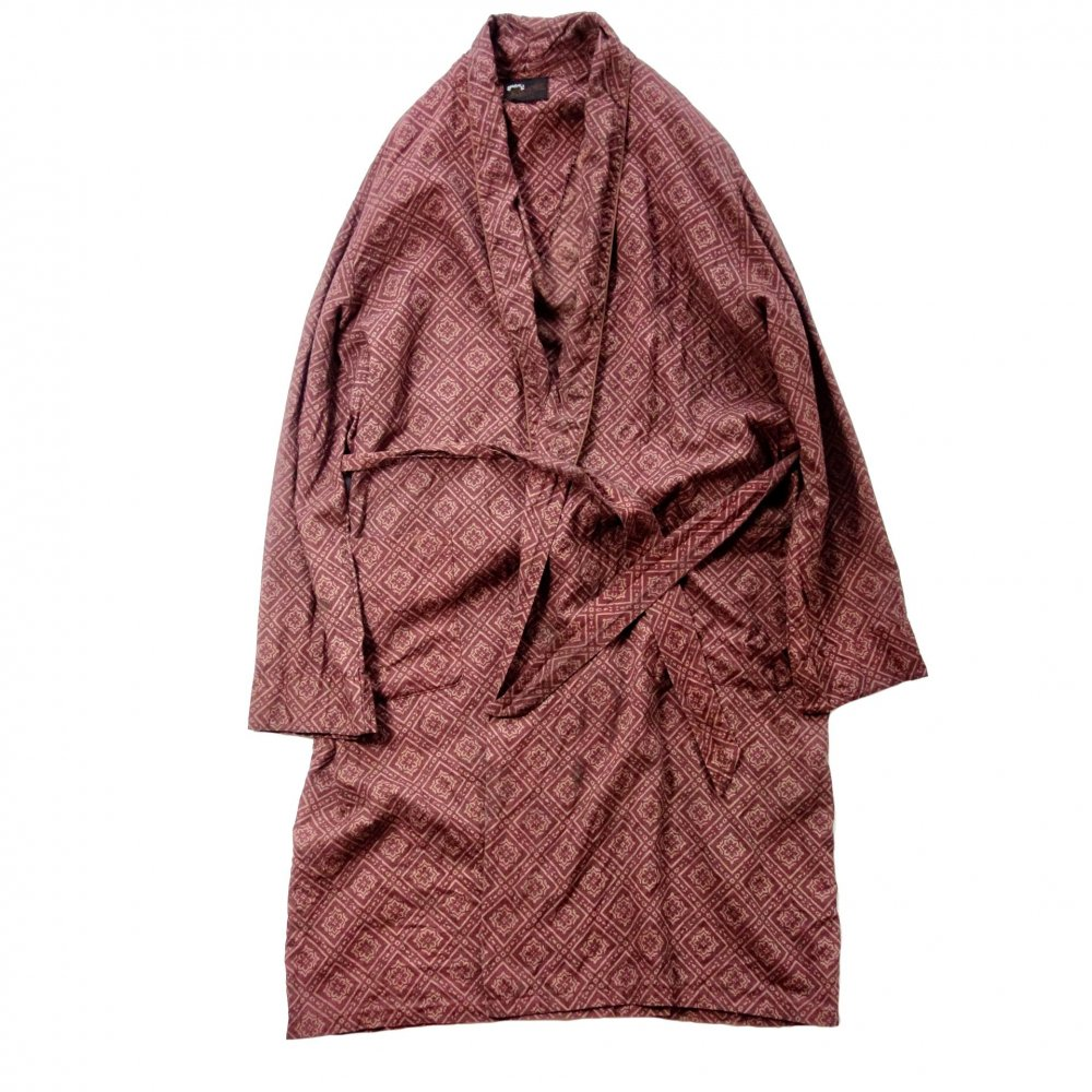 古着 通販 ヴィンテージ コットン ガウン【1960's-GRAND PRIX】【pimpstick×西染】Vintage Robe
