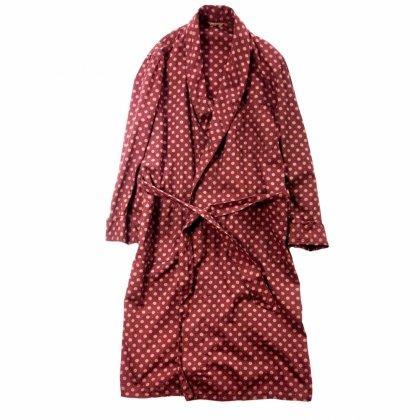 古着 通販 ヴィンテージ コットン ガウン【1960's-St Moritz】【pimpstick×西染】Vintage Robe