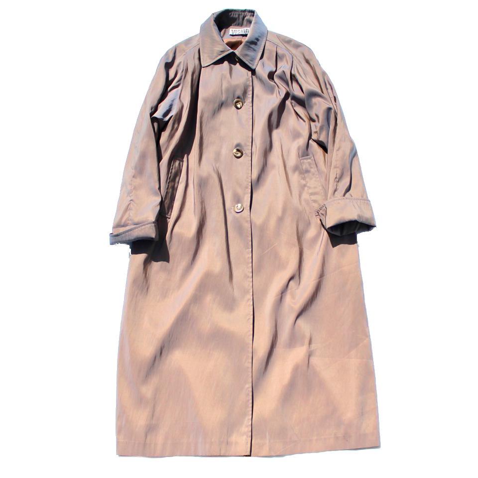 古着 通販 ヴィンテージ スプリング コート【iridescent cloth】【1980s-】Vintage Coat