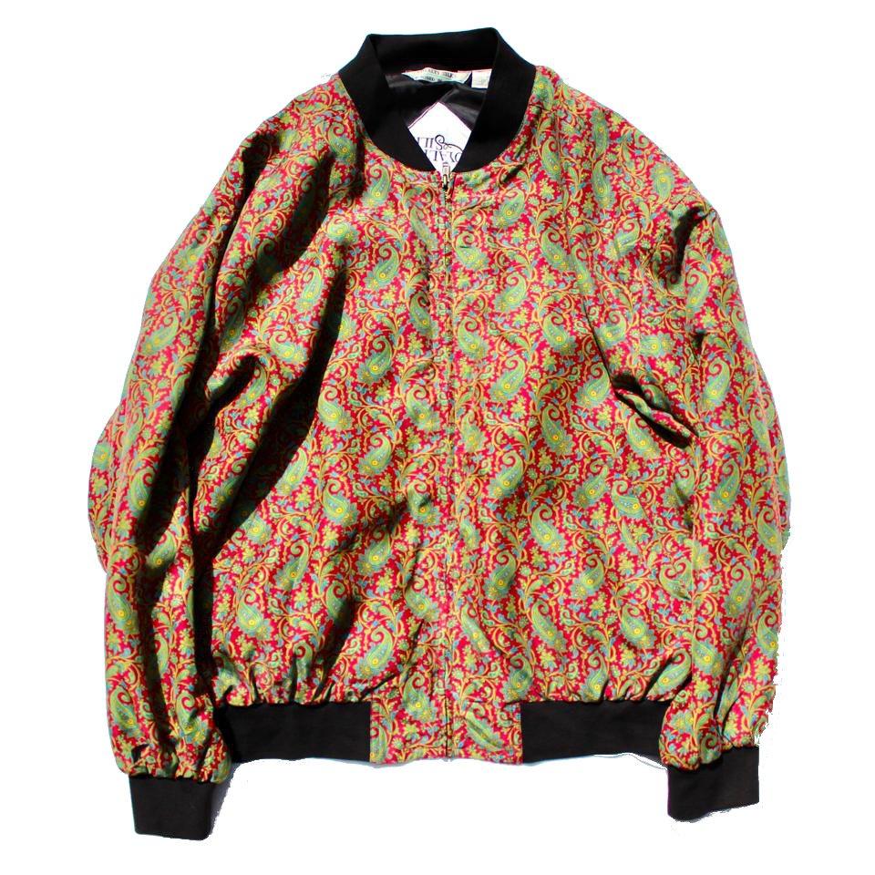 古着 通販 ヴィンテージ シルクブルゾン【Made in Italy】【1990's】 Vintage Jacket